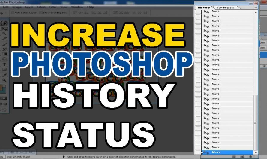 How to Increase History States in Adobe Photoshop