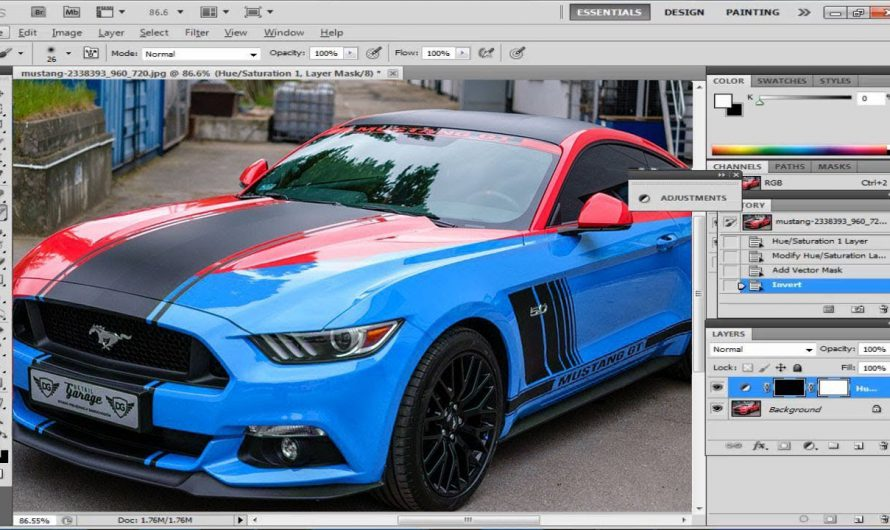 How To Change Color of Anything in Photoshop | Change Car Color