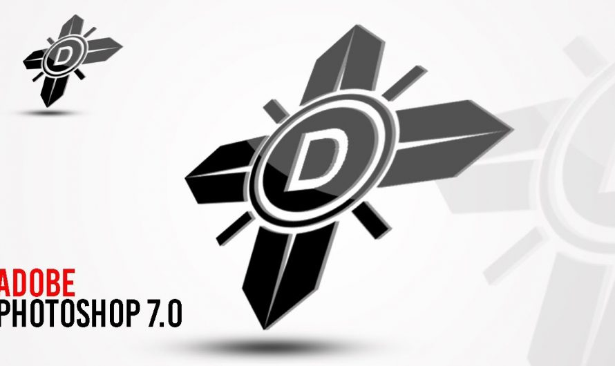 How to Make 3D Logo | Photoshop 7.0