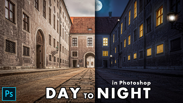 Lear How to Turn Day into Night in Photoshop | Al Qadeer Studio
