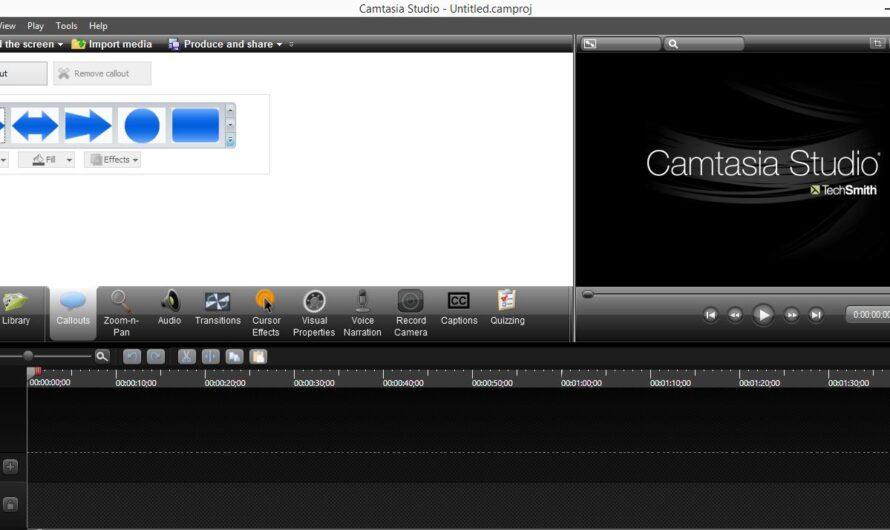 Camtasia Studio 8 Free Download for PC Windows