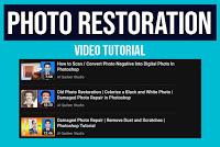 Photo Restoration in Photoshop Video Tutorials | Al Qadeer Studio