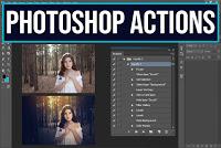 Free Download Photoshop Actions | Al Qadeer Studio