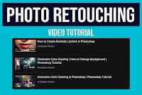 Photoshop Photo Retouching Video Tutorials | Al Qadeer Studio