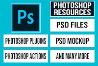 Photoshop Plugins, PSD Files free Download, PHotoshop Video Tutorials | Al Qadeer Studio