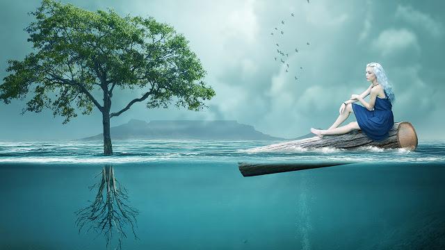 Underwater Photo Manipulation Photoshop Tutorial | Al Qadeer Studio