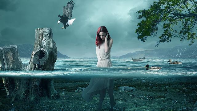 Underwater Scene Effect | Photoshop Manipulation Tutorial