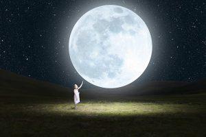 Kid & Moon - Photoshop Manipulation Tutorial
