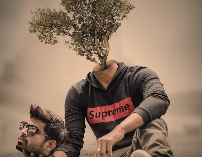 Human Tree – Head Cut Out Surreal Photoshop Manipulation Tutorial