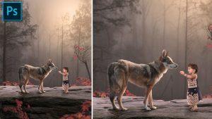 Friendship - Photoshop Photo Manipulation Tutorial