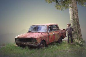 Dead Car - Photoshop Manipulation Tutorial