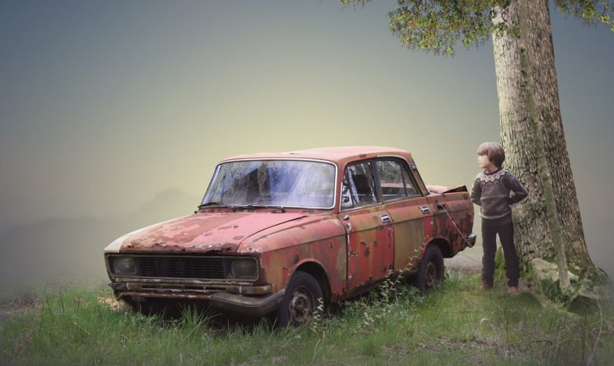 Dead Car – Photoshop Manipulation Tutorial