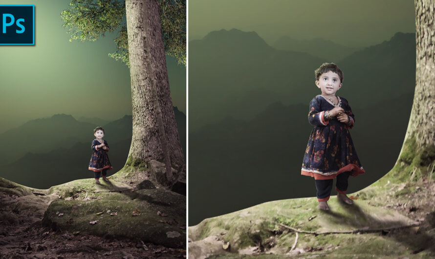 Child Photo Composite Photoshop Tutorial