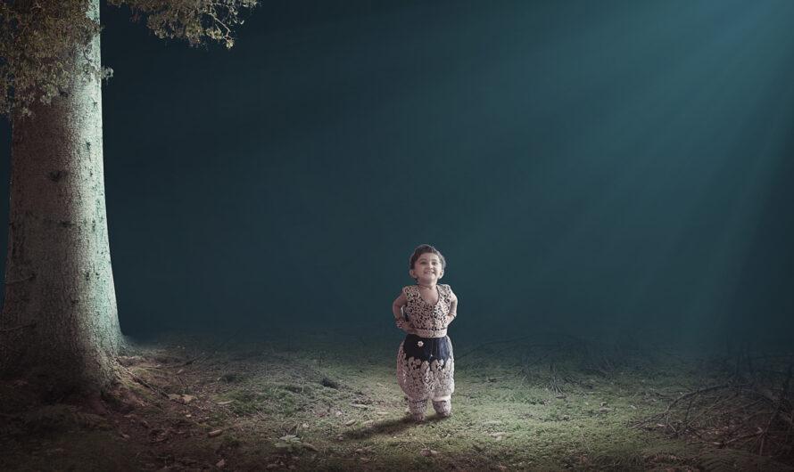 The Lighting Effect Photoshop Manipulation tutorial
