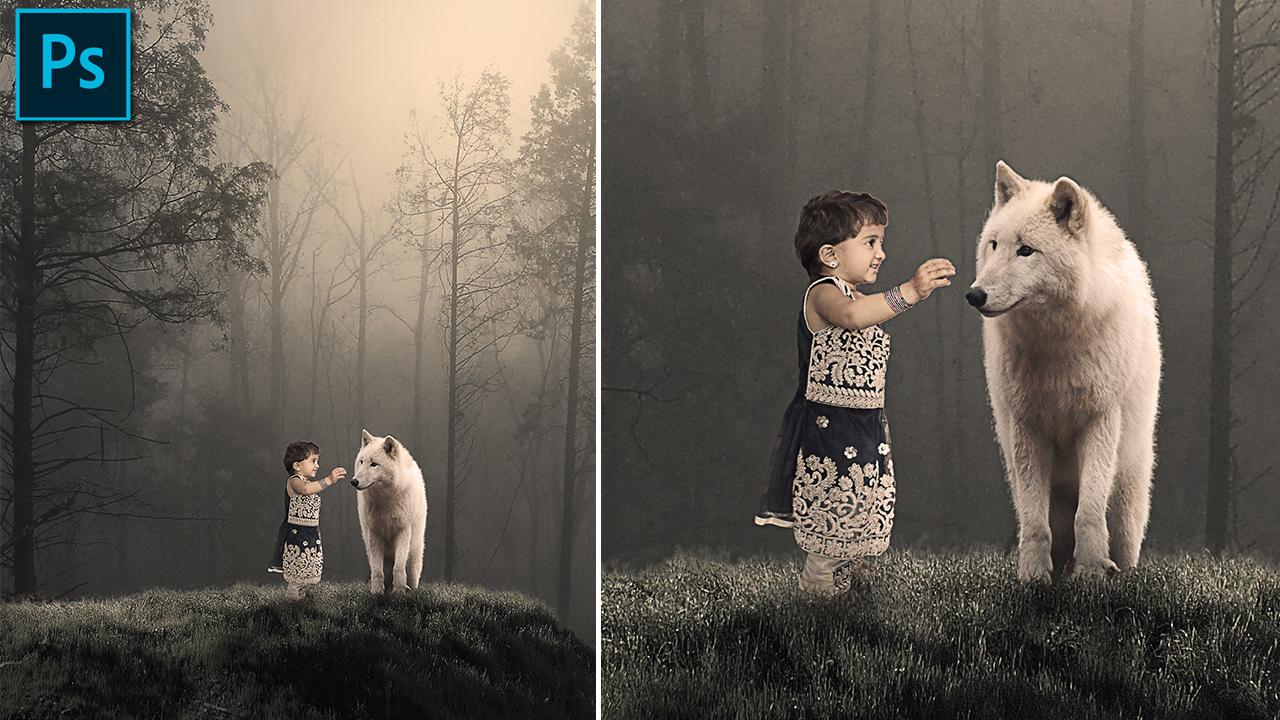Friendship - Photoshop Manipulation Tutorial