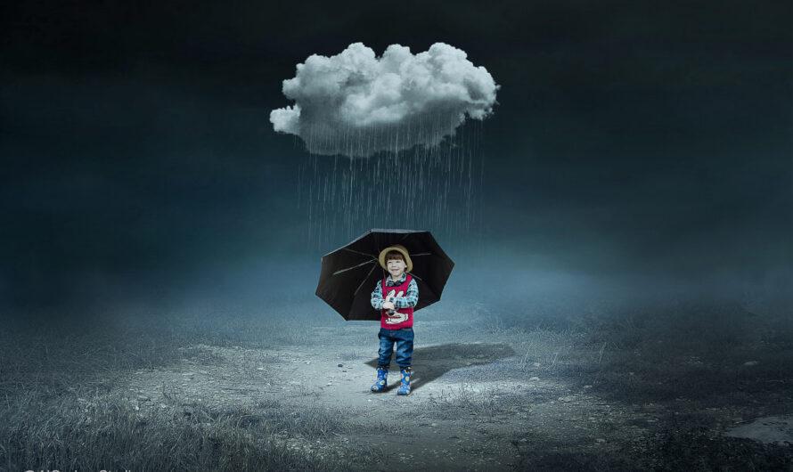 Cloud & Child – Photoshop Manipulation Tutorial