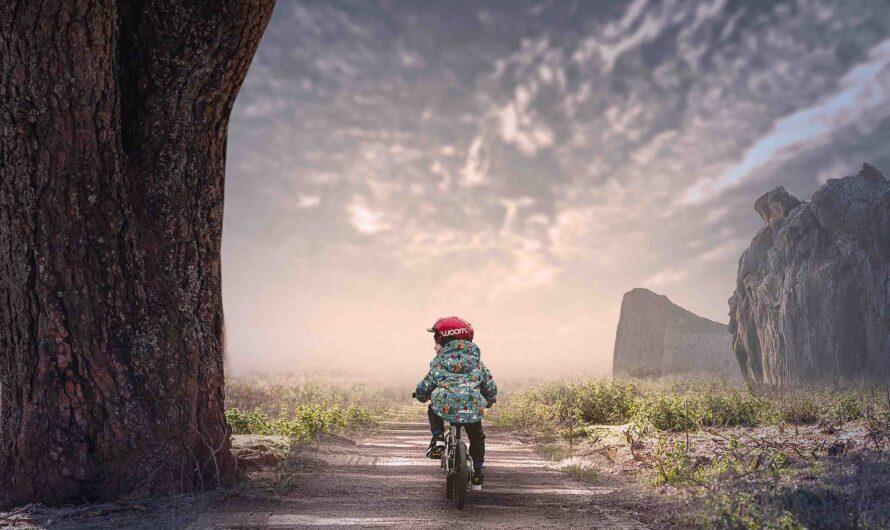 Photoshop Photo Manipulation Tutorial   Child Cycling